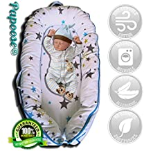 Cama para bebés Papoose, suave y acogedora, de 0 a 8 meses, con bolsa de almacenamiento transpirable