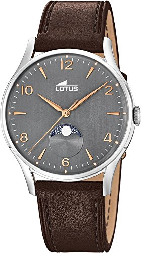 Lotus Multifunktion 18427/2 Mens Wristwatch Lunar Phase Indicator