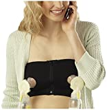 Medela Easy Expression Hands-Free Bustier, Black, Large by Medela