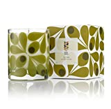 Orla Kiely Fig Tree Scented Candle, Green, 200 g
