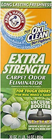 Arm & Hammer Extra Strength Odor Eliminator for Carpet and Room, 30 Ounce (Pack of 6) by Arm & Hammer