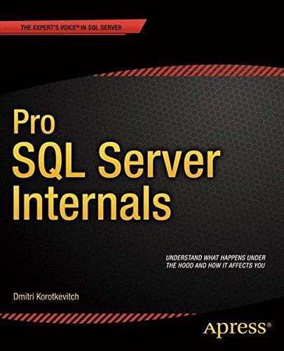 Pro SQL Server Internals (Professional Apress)