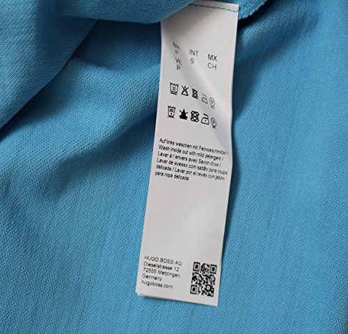 Hugo Boss Herren Firenze Polo T-Shirt schwarz, Marineblau,weiß S,M, L,XL, XXL offen blau