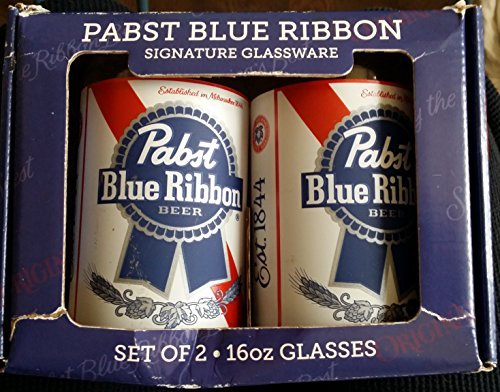 pabst-blue-ribbon-pbr-16-ounce-beer-can-glass-set-of-2-by-pabst-brewing-compnay