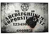 Handgefertigt aus Holz, A4, mit Pentagramm, Ouija Board, Set mit Allsehendes Auge Planchette, Ouija-Brett Pagan/Wicca-Design