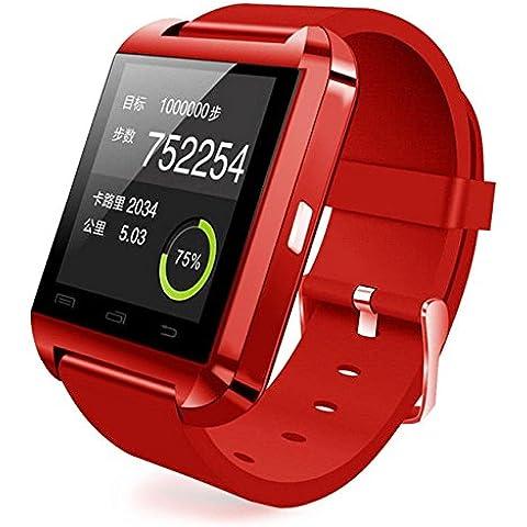 Inteligente Colofan lujo U8 Bluetooth teléfono con cámara de reloj inteligente de pantalla táctil reloj pulseraal para IOS iphone y dispositivos Android Samsung Smartphone