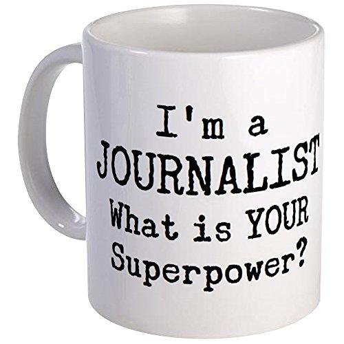 CafePress journalist Mug - S White by CafePress