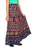 Ethnic Print - Wrap Around Skirt wrap Lo...