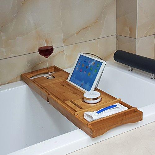 Subbye mensole di stoccaggio vassoi da bagno vasca da bagno multifunzionale ripiani sospesi bagno telefono scaffale per vasca da bagno ( colore : style 1 )