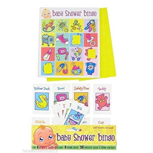 Alandra Party Baby Dusche Bingo Spiel