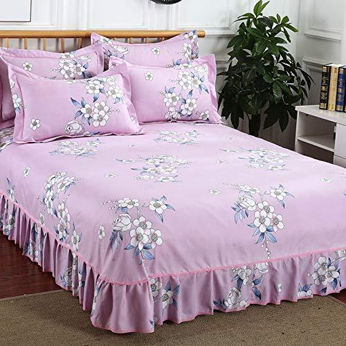 huyiming Verwendet für Bett Rock Einteilige koreanische Prinzessin bettlaken Abdeckung (555-3) 180x200 cm -