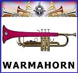 warmahorn Trompette en néoprène Housse de protection, Rose