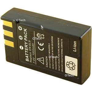 Otech D081SN Batterie pour Appareil Photo Numérique de type Nikon EN-EL9 7,4 V