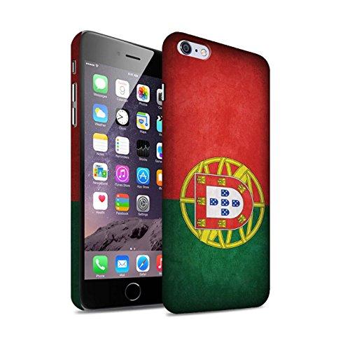 Clipser Matte Coque de Stuff4 / Coque pour Apple iPhone 5/5S / Chili/Chiliean Design / Drapeau Collection Portugal/portugais
