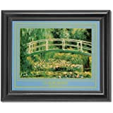 Claude Monet Water Lilies Giverny Wall Picture Framed Art Print by Art Prints Incorporated