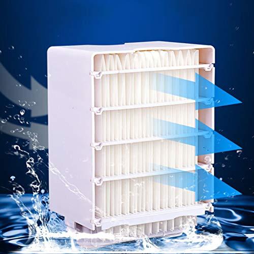 1 Stücke Air Ersatzfilter, Filter Ersatz USB Cooling Black Technologie Vollbild Für Arctic Air Raumkühler Replacement Filter, Mini Luftkühler Ventilator Air Cooler Mobil Klimageräte Ersatzteile (weiß) -
