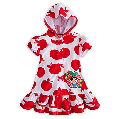 Deluxe Snow White Cover Up f¨¹r M?dchen Kleinkinder Red Apple Princess (M 7-8 Medium) (Terry Up Beach Cover)
