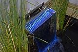 Ubbink Niagara Wasserfall LED - BLAUE Leuchteinheit 2014 (60 cm breite)