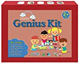 #2: Genius Kit : A complete Math, English and GK Kit for 2 year olds (7 items in Box: Shapes & Colours Puzzle board, Numbers puzzle board, 26 A-Z flash cards, 26 a-z flash cards,10 Shapes Flash cards,10 Colours flash cards)