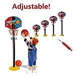HappyToy mini basket réglable de type panier de basket des sports - match de basket jouet - indoor - outdoor sports basket - jouet avec une nouveauté et un gonfleur