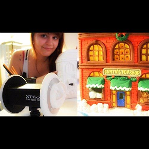 Asmr Painting Santa's Toy Shop! Sticky Fingers Brush Sounds Soft Spoken and Whispered