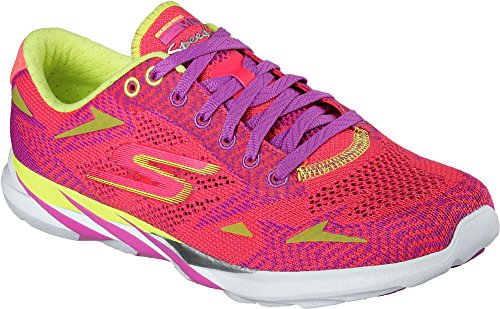 Skechers Go Meb Speed 3 2016, Baskets Basses femme pink