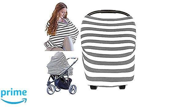 4 in 1 Autositz Baldachin Abdeckung Multi Use Baby Stillen Pflege Abdeckung