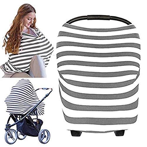 Aseok Outdoor Breastfeeding Towel Car Seat Canopy Cover Baby Car