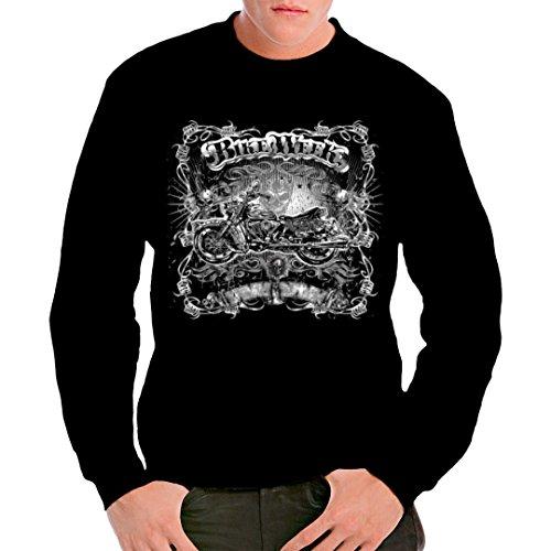 Biker unisex Sweatshirt - Bike Week - Gothic Chopper by Im-Shirt - Schwarz 3XL -