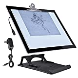 Yescom A3 LED Tracing Light Box with Stand 16'x13' Active Area Stencil Board Tattoo Drawing Table Display Pad 19'x14'