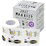 Mariage just married rouleaux de papier toilette imprimé fun