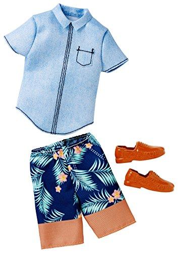 Barbie-Hemd mit Jeans und Shorts Ken (Mattel CFY02)