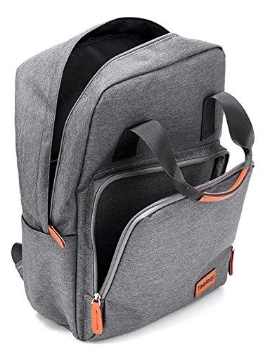 Keshi Leinwand neuer Stil Damen accessories hohe Qualität Einfache Tasche Schultertasche Freizeitrucksack Tasche Rucksäcke Schwarz
