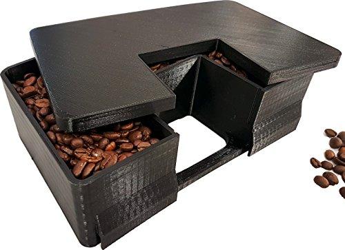 Bohnenbehälter Erweiterung für 400 gr mehr Bohnenkapazität passend für DeLonghi Magnifica S...