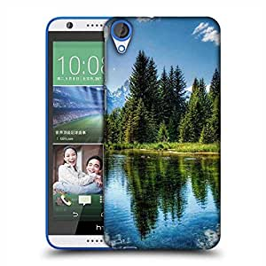 Snoogg Wavy Water Designer Protective Phone Back Case Cover For HTC Desire 820