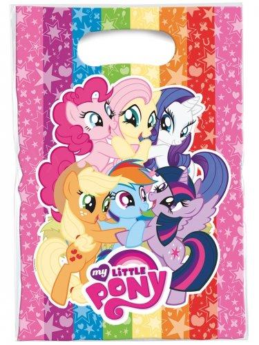 Generique - 6 Sacs de fête My Little Pony