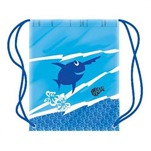 BECO Swim Tasche Schwimmbad Zubehör bedruckt Carry Sack 96067blau oder rosa je Blau - blau
