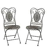 Greenware 732936-T - Muebles romántica deco, silla de