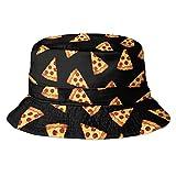 Fischerhut Bucket Hat Sonnenhut Print Pizza