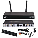 Axas His 4K Combo 1x DVB-S2 / 1x DVB-C/T2 4K UHD H.265 HEVC E2 Linux Set-Top Box