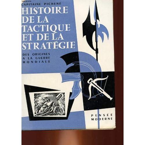 Histoire de la tactique et de la strategie jusqu'a la guerre mondiale