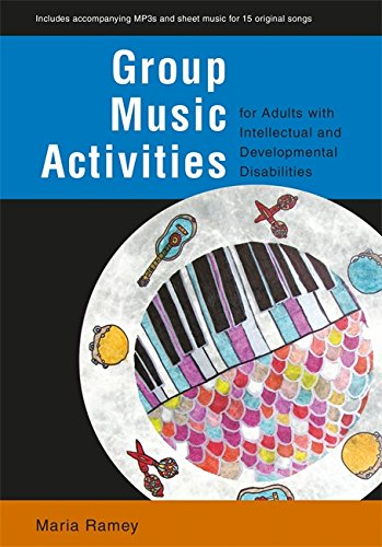 Group Music Activities for Adults with Intellectual and Developmental Disabilities Cover Image