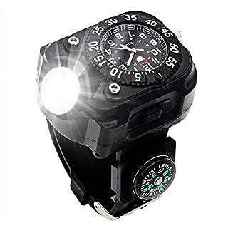 5W Wiederaufladbare Armbanduhr LED Taschenlampe Wasserdichte Outdoor/Taschenlampe Handgelenk Lampe/Taschenlampen/Handwerkzeuge