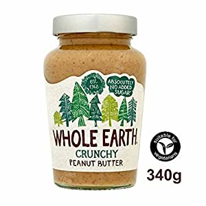 Whole Earth Crunchy Peanut Butter 340g - so wie jede