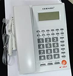 Shopos Orientel KX-T1588CID FSK/DTMF Caller Id Compatible Phone One Touch Redial Telephone