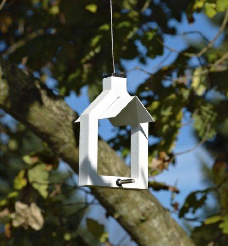 Futterstation Alicante Vogelhaus zum Aufhängen – lindgrün - 2