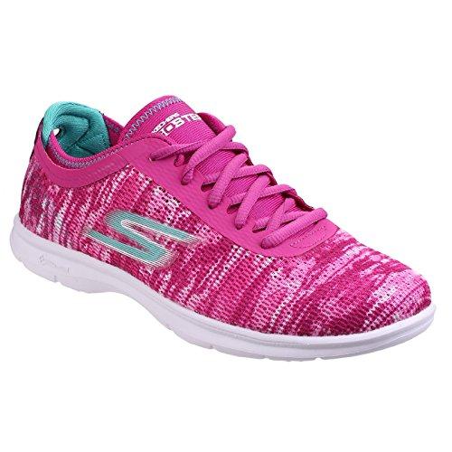 Skechers - GO STEP, Scarpe da ginnastica Donna Blu/Rosa