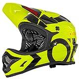 O'Neal Backflip RL2 Slick Fahrrad Helm Downhill MTB Mountain Bike FR DH Fullface, 0500-L, Farbe Neon Gelb, Größe M