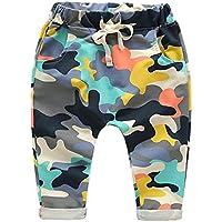 Haremshose für Baby Kinder Mode Camouflage Hosen Weich Elastische Taille Casual Lange Hose mit Taschen für Mädchen Jungen