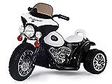 Kaiser-Handel.de Kinder Elektromotorrad Police Harley Chopper Motorrad Cross Pocket Bike 25 Watt 6v Tricycle